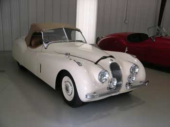 Jim Ostner Has Owned This 1951 XK 120 Roadster Since College!