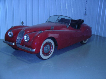 Another From The Ostner Collection   A 1950 XK 120 Roadster